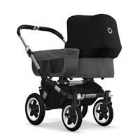 bugaboo donkey2 mono 2019 Kinderwagen für ein Kind Alu-Grau meliert-Schwarz