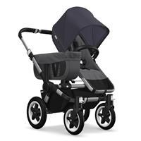 Kinderwagen ab 6 Monate bis 17kg | bugaboo donkey2 mono 2019 Kinderwagen für ein Kind Alu-Grau melie