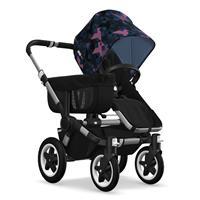 Kinderwagen ab 6 Monate bis 17kg | bugaboo donkey2 mono 2019 Kinderwagen für ein Kind Alu-Schwarz-Bi