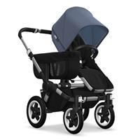 Kinderwagen ab 6 Monate bis 17kg | bugaboo donkey2 mono 2019 Kinderwagen für ein Kind Alu-Schwarz-Bl