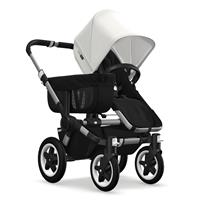 Kinderwagen ab 6 Monate bis 17kg | bugaboo donkey2 mono 2019 Kinderwagen für ein Kind Alu-Schwarz-Fr