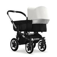 bugaboo donkey2 mono 2019 Kinderwagen für ein Kind Alu-Schwarz-Fresh White