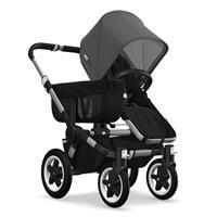 Kinderwagen ab 6 Monate bis 17kg | bugaboo donkey2 mono 2019 Kinderwagen für ein Kind Alu-Schwarz-Gr
