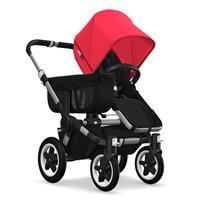 Kinderwagen ab 6 Monate bis 17kg | bugaboo donkey2 mono 2019 Kinderwagen für ein Kind Alu-Schwarz-Ne