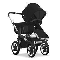 Kinderwagen ab 6 Monate bis 17kg | bugaboo donkey2 mono 2019 Kinderwagen für ein Kind Alu-Schwarz-Sc