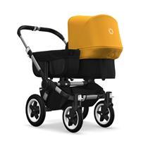 bugaboo donkey2 mono 2019 Kinderwagen für ein Kind Alu-Schwarz-Sonnengelb