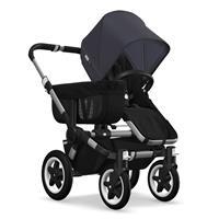 Kinderwagen ab 6 Monate bis 17kg | bugaboo donkey2 mono 2019 Kinderwagen für ein Kind Alu-Schwarz-St