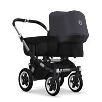 bugaboo donkey2 mono 2019 Kinderwagen für ein Kind Alu-Schwarz-Steel Blue
