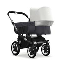 bugaboo donkey2 mono 2019 Kinderwagen für ein Kind Alu-Steel Blue-Fresh White