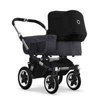 bugaboo donkey2 mono 2019 Kinderwagen für ein Kind Alu-Steel Blue-Schwarz