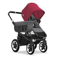 Kinderwagen ab 6 Monate bis 17kg | bugaboo donkey2 mono 2019 Kinderwagen für ein Kind Schwarz-Grau m