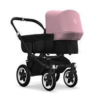 bugaboo donkey2 mono 2019 Kinderwagen für ein Kind Schwarz-Schwarz-Soft Pink