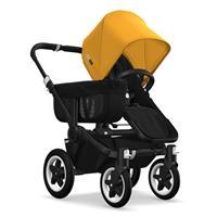 Kinderwagen ab 6 Monate bis 17kg | bugaboo donkey2 mono 2019 Kinderwagen für ein Kind Schwarz-Schwar