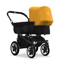 bugaboo donkey2 mono 2019 Kinderwagen für ein Kind Schwarz-Schwarz-Sonnengelb