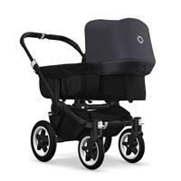 bugaboo donkey2 mono 2019 Kinderwagen für ein Kind Schwarz-Schwarz-Steel Blue