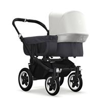 bugaboo donkey2 mono 2019 Kinderwagen für ein Kind Schwarz-Steel Blue-Grau meliert