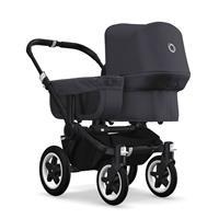 bugaboo donkey2 mono 2019 Kinderwagen für ein Kind Schwarz-Steel Blue-Steel Blue