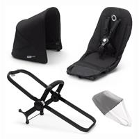 bugaboo Duo-Extension-Pack for Donkey 3 Core Design Black / Black / Black