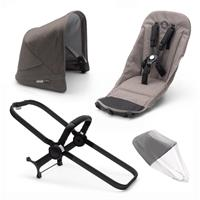 bugaboo Duo-Extension-Pack for Donkey 3 Mineral Design Black / Taupe
