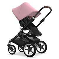 Bugaboo Fox Kinderwagen Schwarz/Soft Pink