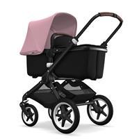 bugaboo fox Kinderwagen schwarz soft pink
