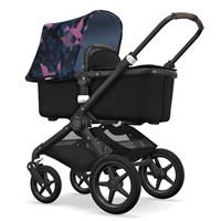 bugaboo fox Kinderwagen schwarz birds