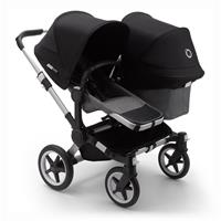 bugaboo Sibling Stroller Donkey 3 Mono Alu / Grey Melange/ Black