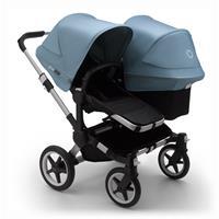 bugaboo Sibling Stroller Donkey 3 Mono Alu / Black / Vapor Blue