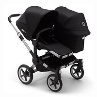 bugaboo Sibling Stroller Donkey 3 Mono Alu / Black / Black