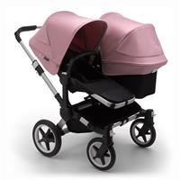 bugaboo Sibling Stroller Donkey 3 Mono Alu / Black / Soft Pink