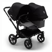 bugaboo Sibling Stroller Donkey 3 Mono Black / Grey Melange/ Black