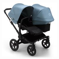 bugaboo Sibling Stroller Donkey 3 Mono Black / Black / Vapor Blue