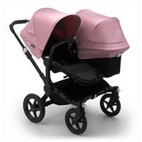 bugaboo Sibling Stroller Donkey 3 Mono Black / Black / Soft Pink