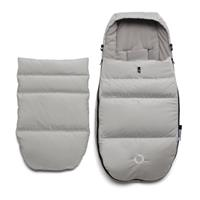 bugaboo high performance fusssack plus arctic grey front with insert