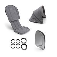 bugaboo Style-Set für Kinderwagen Ant Design Grau Meliert
