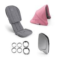bugaboo Style-Set für Kinderwagen Ant Design Grau Meliert / Lachsrosa