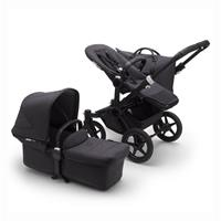 bugaboo Combi Push Chair Donkey 3 Mono Mineral Design Black / Washed Black