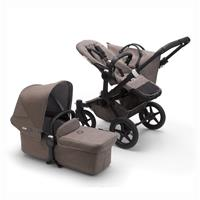 bugaboo Combi Push Chair Donkey 3 Mono Mineral Design Black / Taupe