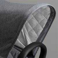 bugaboo limited edition classic donkey2 mono alu grau meliert detail verdeck
