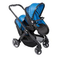 Chicco Geschwisterwagen/ Zwillingswagen Fully Twin Power Blue