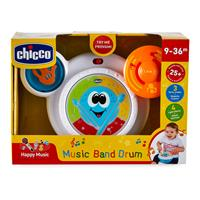 Chicco Musikspielzeug Musikband Schlagzeug