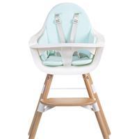 Childhome Seat cushion Pastell Mint Blau for high chair EVOLU, EVOLU2 oder Evolu ONE.80°