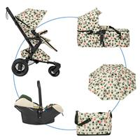 Concord NEO MOBILITY SET m. Buggy NEO, Babywanne SCOUT & Babyschale AIR.SAFE Special Edition Emerald