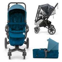 Concord NEO PLUS BABY-SET 2in1 Buggy mit Tragewanne ab Geburt Peacock Blue