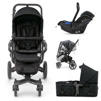Concord NEO PLUS MOBILITY-SET 3in1 Buggy mit Babyschale & Tragewanne