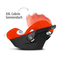 Babyschale Cybex Aton Q Mars Red - red | XXL Cabrio Sonnendach UVP 50+
