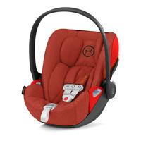 Cybex Babyschale Cloud Z i-Size Plus inkl. Sensorsafe Autumn Gold | burnt red
