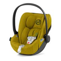 Cybex Babyschale Cloud Z i-Size Plus inkl. Sensorsafe Mustard Yellow | yellow