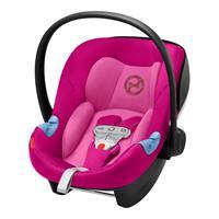 Cybex Babyschale Aton M i-Size inkl. SENSORSAFE 2019 Fancy Pink