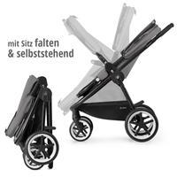 Kinderwagen mit Sitz falten | Cybex Balios M Kinderwagen